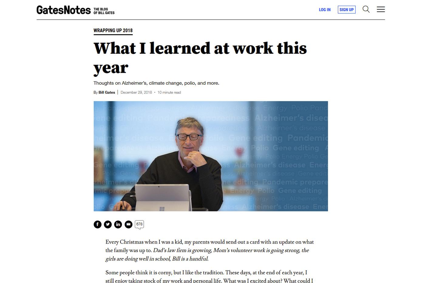 ビル・ゲイツの米国株ポートフォリオの特徴